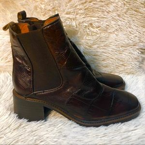 Zara Woman's Patent Leather Boots